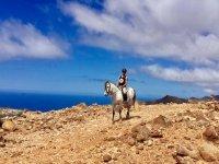 Guia a caballo en Jandia