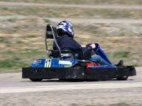 Kart desde la parte trasera