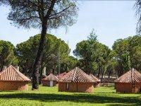 Alojamiento en el campamento