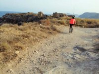 By bike to the historical ruins