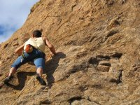 Diferentes vias de escalada