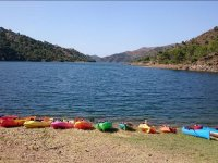 Kayaks near the Costa del Sol