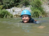 Swimming in the Malaga river