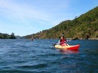 Canoe in the river marbelli