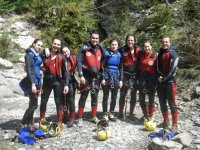Canyoning for groups
