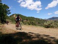 Cycling through the Malaga countryside