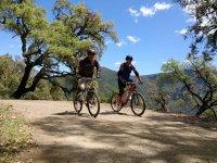 Cycling through the Sierra de las Nieves