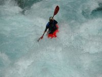 Whitewater kayaking routes