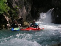 Whitewater descent in Huesca