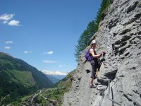 Initiation to the via ferrata