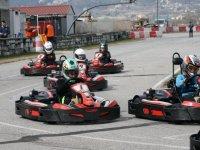 carrera de karting en Barcelona