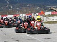 concentrados para la carrera de karting