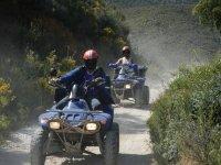 Piloting quads through the Sierra de Las Nieves