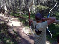 Archery 3D arch in Huesca