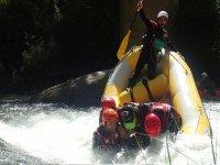 Descensos de rafting