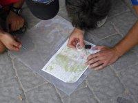 Orientamento con mappa