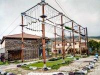Un parque espectacular de cuerdas aéreas