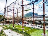 Parque de aventuras de cuerdas