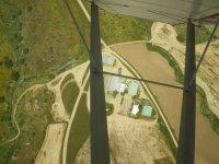 Veduta di El Pardillo dall'aria