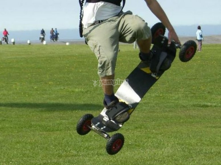 ¿Conoces la mountainboard?