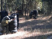 paintball en la adrada