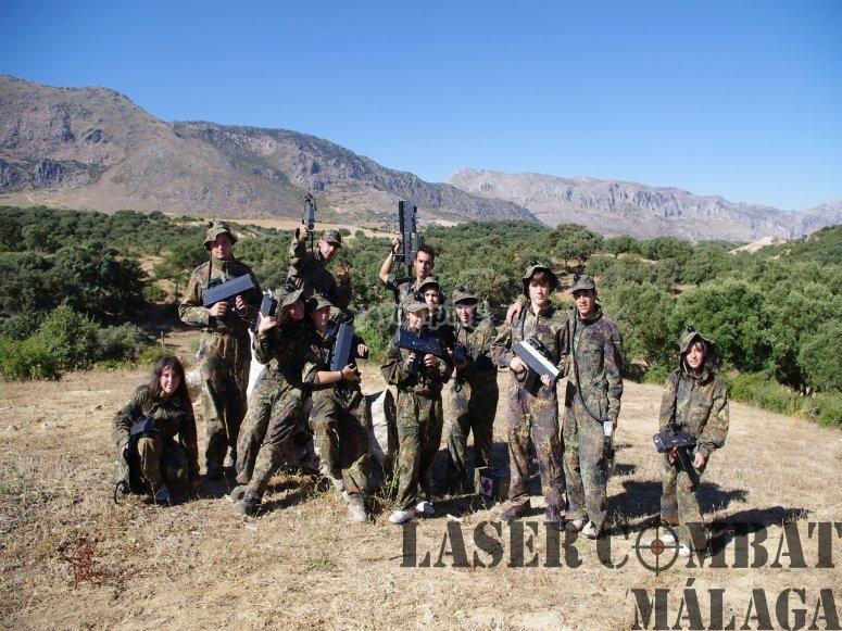 Battlefield Laser Combat Malaga en nuestras instalaciones