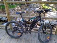 塞戈维亚的山地电动自行车