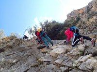 在马拉加铁索攀岩铁索攀岩先进水平