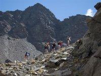 在内华达山脉的高山变成