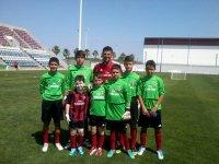 Algunos de los participantes en el camp de Huelva