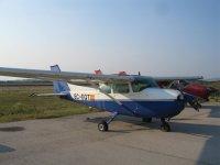 Ultralight aircraft at Sant Just Desvern