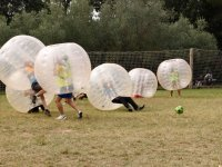 Calcio a bolle a Sant Celoni