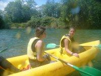 Canoa para 3 personas