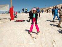 Aprendiendo la posicion de esqui