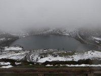 阿斯图里亚斯的冬季风景