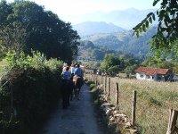Cavalcando nelle Asturie