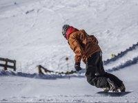Godersi la neve nella Sierra Nevada