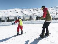Snow class in Sierra Nevada