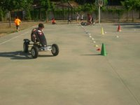 Circuito de karting a pedales
