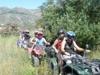 Excursion en el campo con quads