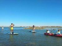 Travesia en kayak por Ayamonte