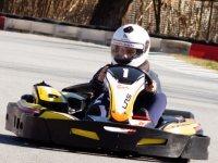 Carrera de karts junior