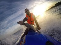 Jet ski tour along Platja d'Aro