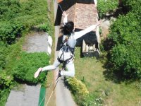 Saltando desde Ponte de Ceilan