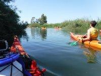 Isola di Buda in canoa