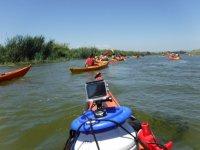 Los Garxals by canoe