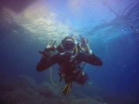 Empezando a pocos metros de profundidad