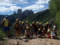 Gruppo del canyoning