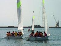 Children's sailing event