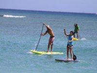 Paddle surf en el Mediterráneo